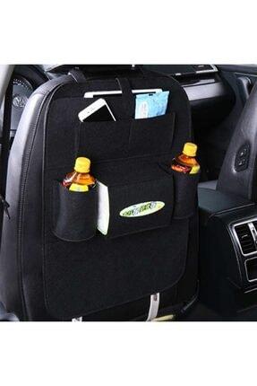 Ankaflex Araba Oto Koltuk Arkası Organizer Araç Içi Eşya Düzenleyici 2 Adet -siyah