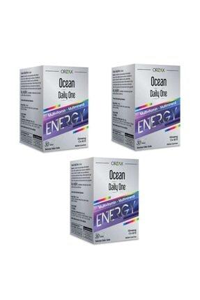 Ocean Daily One Energy 30 Tablet 3'lü