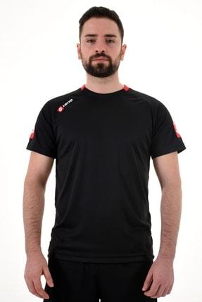 Lotto Siyah Kısa Kollu T-shirt-joe Tee Ant Pl-r8929