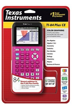TEXAS-INSTRUMENTS Texas Instruments Tı-84 Plus Ce Grafik Hesap Makinesi
