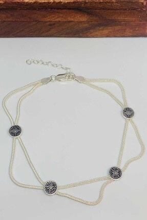 Artuklu Telkari Kadın Asur Model 925 Ayar Mardin Hasırı Gümüş Halhal
