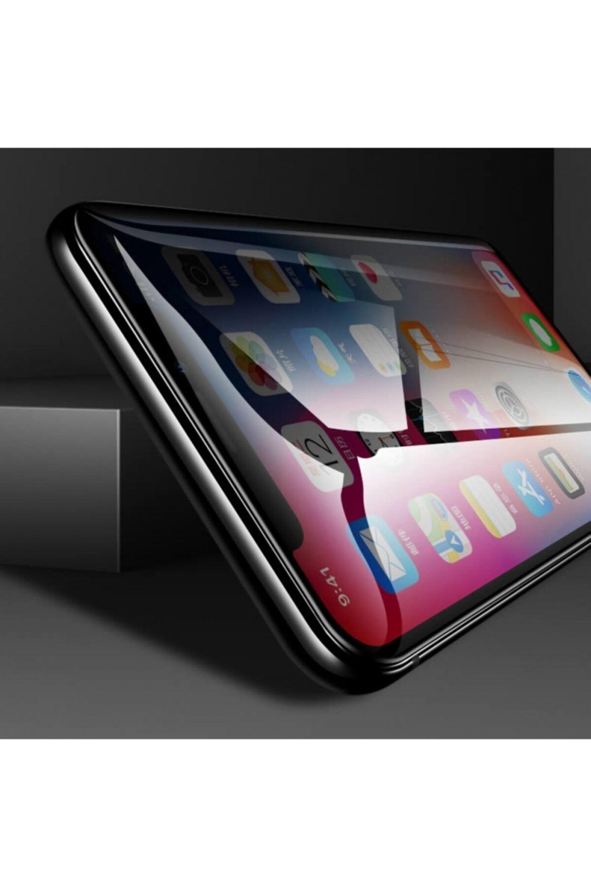 Kilifplus Apple Iphone 11 Pro Max Kırılmaz Cam Karartmalı Hayalet Toz Önleyicili Privacy Ekran Koruyucu 2