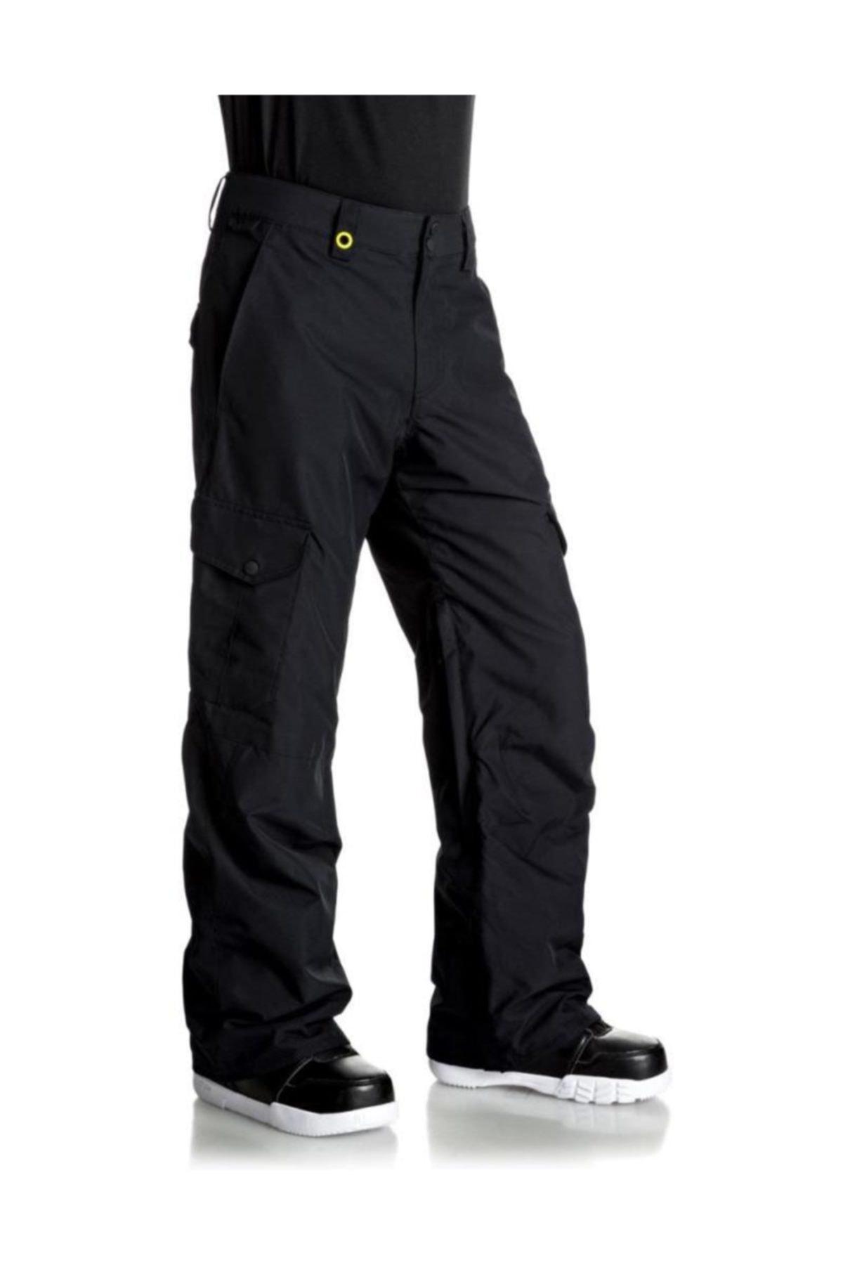 Quiksilver Porter Erkek Kayak ve Snowboard Pantolonu Siyah 1