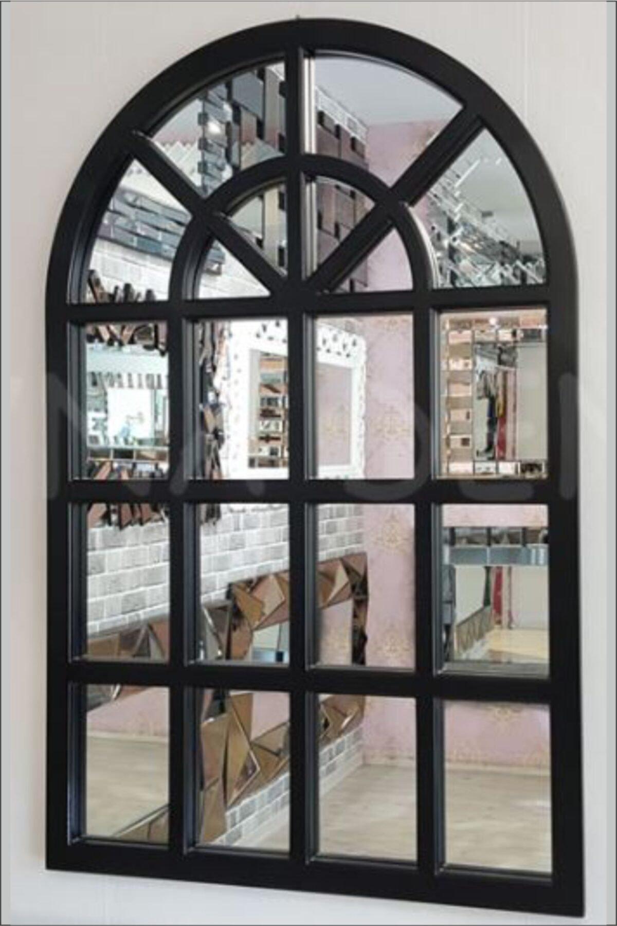 ahşapdekor Dekoratif Pencere Model Ayna 1