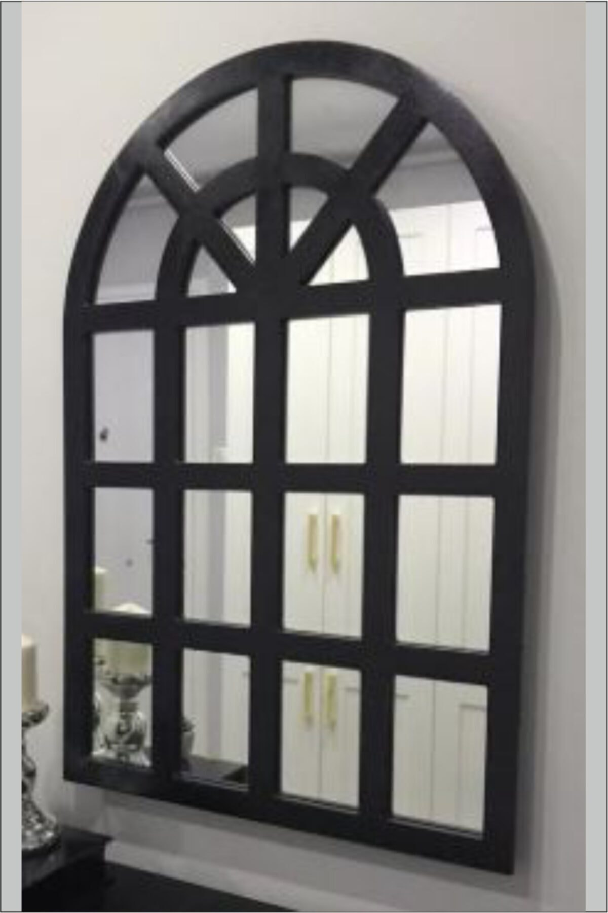 ahşapdekor Dekoratif Pencere Model Ayna 2