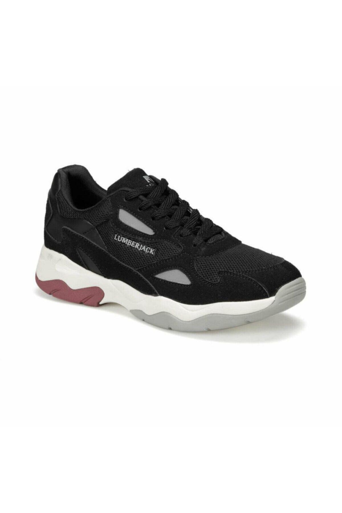 lumberjack Grace Siyah Kadın Günlük Koşu Spor Ayakkabı 1