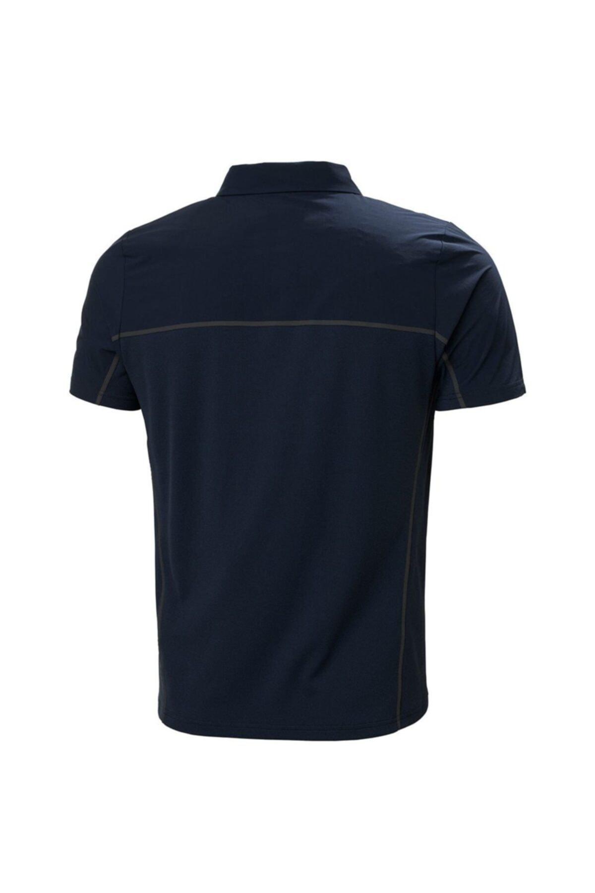 Helly Hansen Erkek Lacivert Polo T-shirt Hh Hp Foil Ocean 2