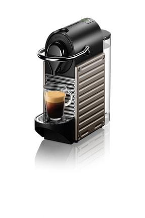 Nespresso C61 PIXIE Titan Kapsüllü Kahve Makinesi