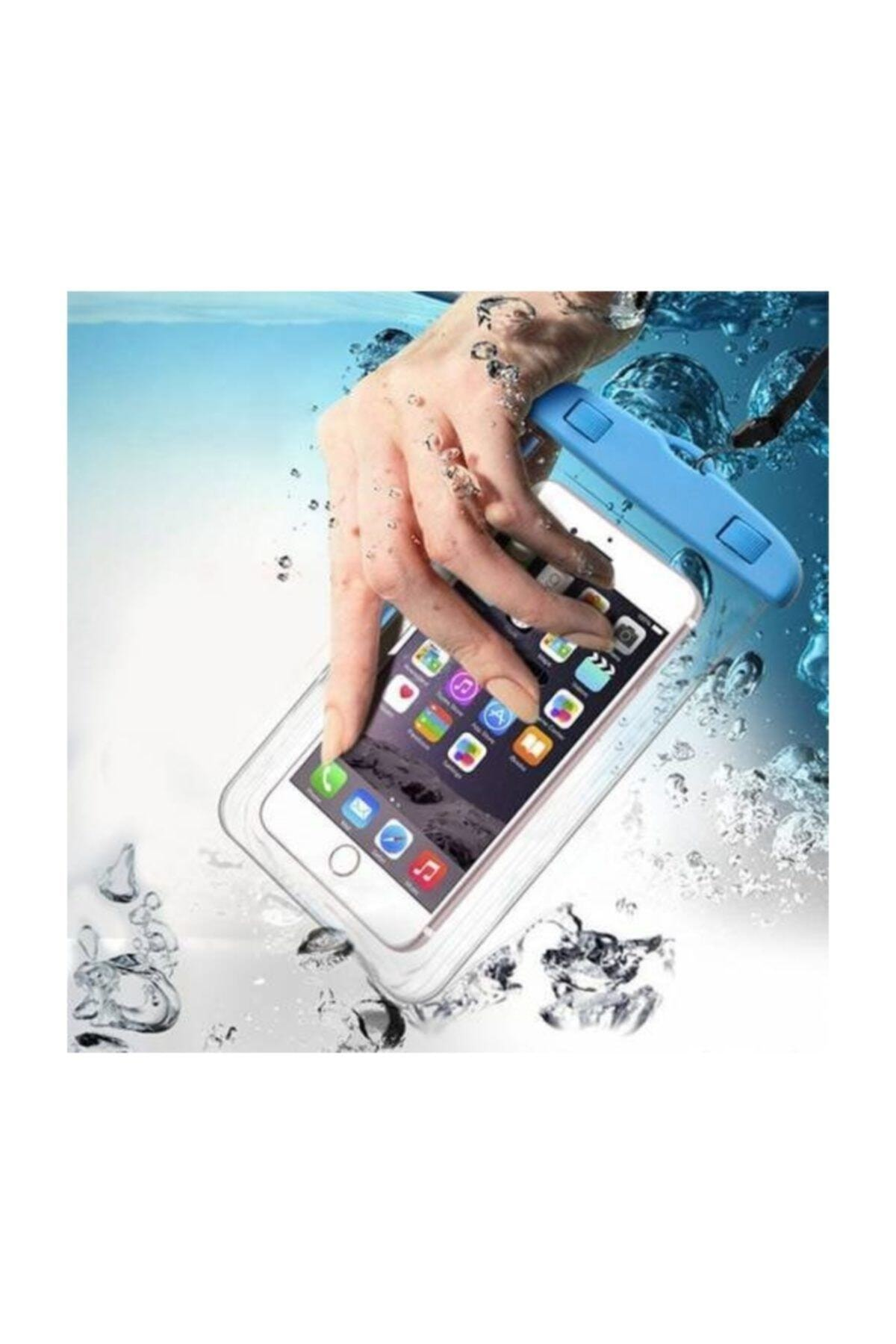 MRÇ Su Geçirmez Kılıf Askılı Tüm Telefonlarla Uyumlu 1