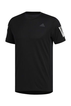 adidas OWN THE RUN TEE Siyah Erkek T-Shirt 100479654