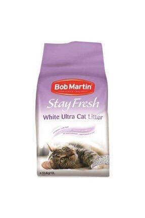 Febreze Stayfresh Ultra Beyaz Hızlı Topaklanan Bebek Pudralı Kedi Kumu 12 Lt