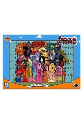 LAÇO KİDS Adventure Time Frame Puzzle 48 Parça