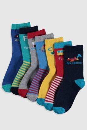 LC Waikiki Erkek Çocuk Karışık Renk İpl K00 Soket Çorap