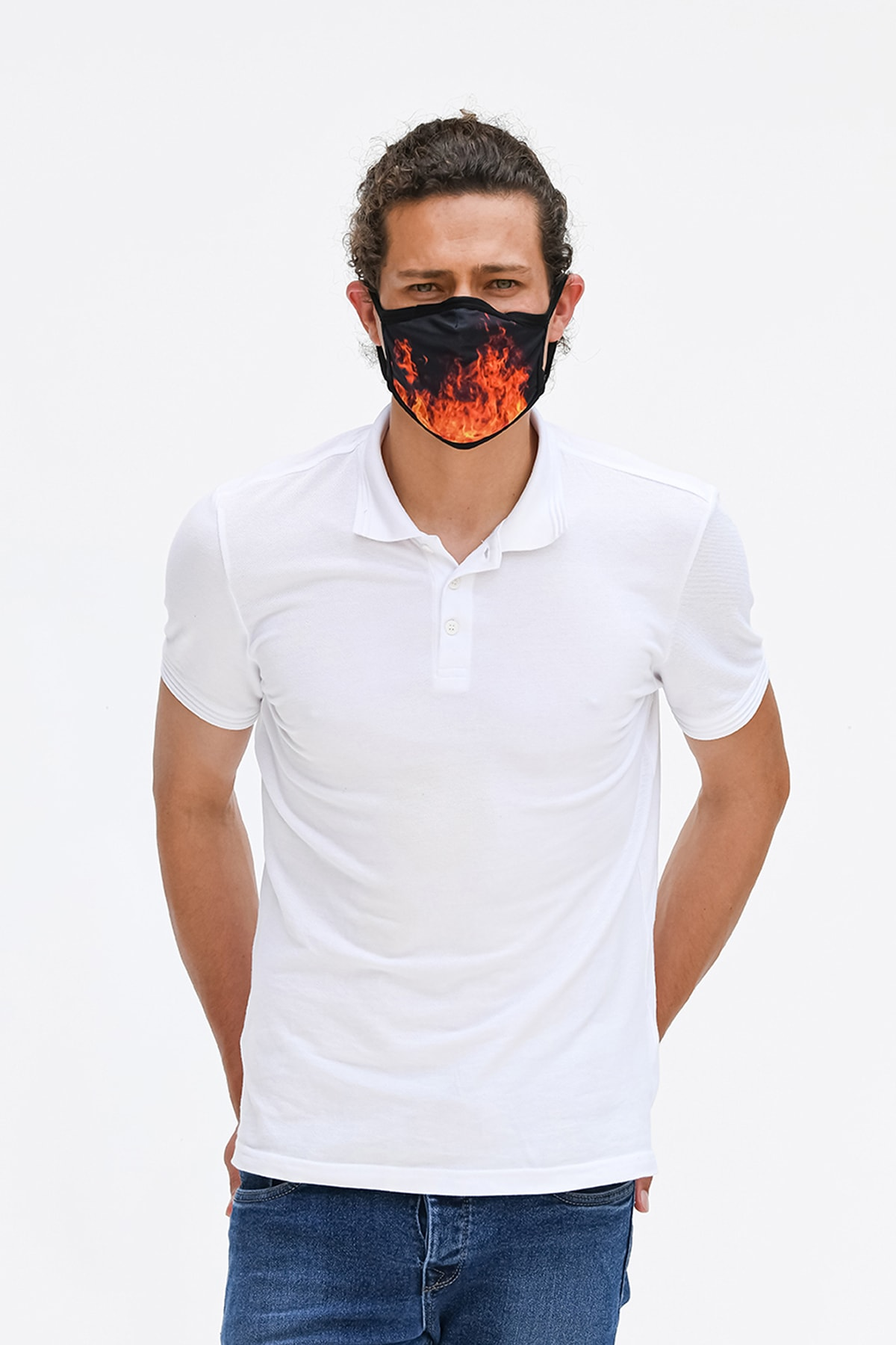 Etnik Esintiler TM028M Maske Fıre