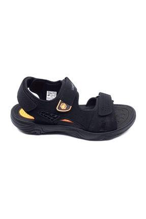 lumberjack 100501715 Siyah-orange Yeni Sezon Cırtlı Comfort Rahat Erkek Sandalet