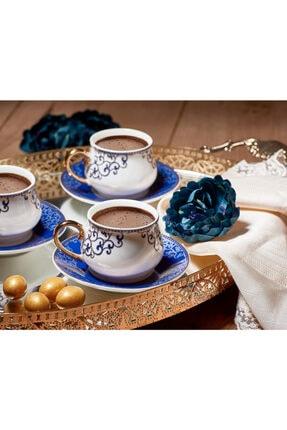 Aryıldız Royal Queen New Bone Kahve Fincan Seti 6 Lı
