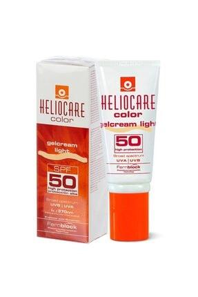 Heliocare Color Gelcream Light Renkli Güneş Kremi Spf 50 50 Ml