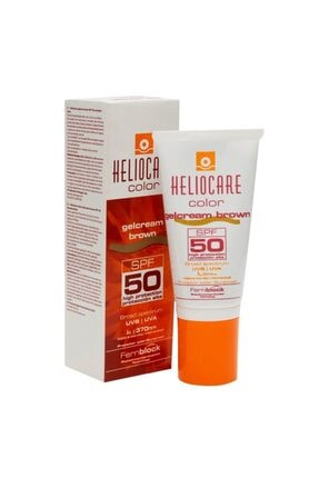 Heliocare Color Gelcream Brown Renkli Güneş Kremi Spf 50 50 ml