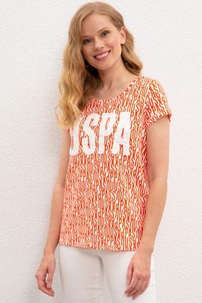 U.S. Polo Assn. Kadın T-Shirt G082GL011.000.937214