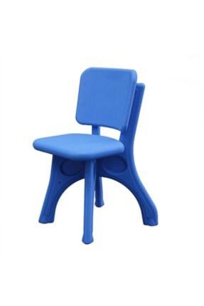 Oyun Terapi Market King Kids Küçük Sandalye Mavi