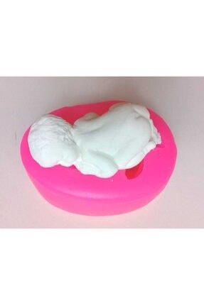 Altınyapı Hobi Market Silikon Kalıp - Ters Yatan Bebek Sabun Ve Kokulu Taş Silikon Kalıbı