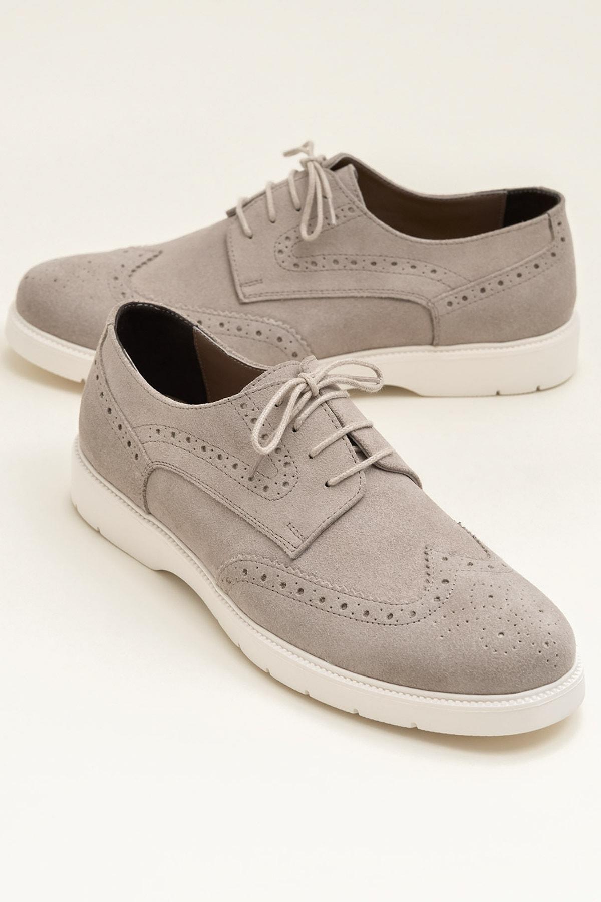 Elle Shoes AMBROSE Bej Erkek Ayakkabı 1