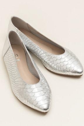 Elle Shoes ACKERR Gümüş Kadın  Babet 20YFM3885025