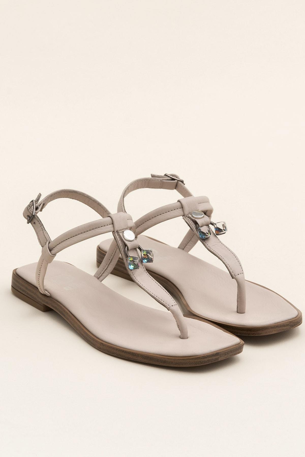Elle Shoes DESPINA Bej Sandalet 20YEK3143732 2