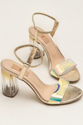 Elle Shoes BODA-1 Altın Sandalet 20YRE1502