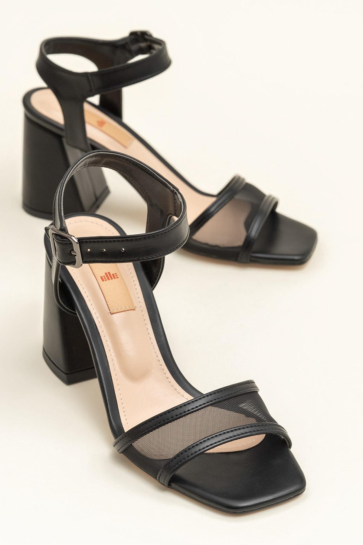 Elle Shoes KINE Siyah Kadın  20YBU6298-512 1