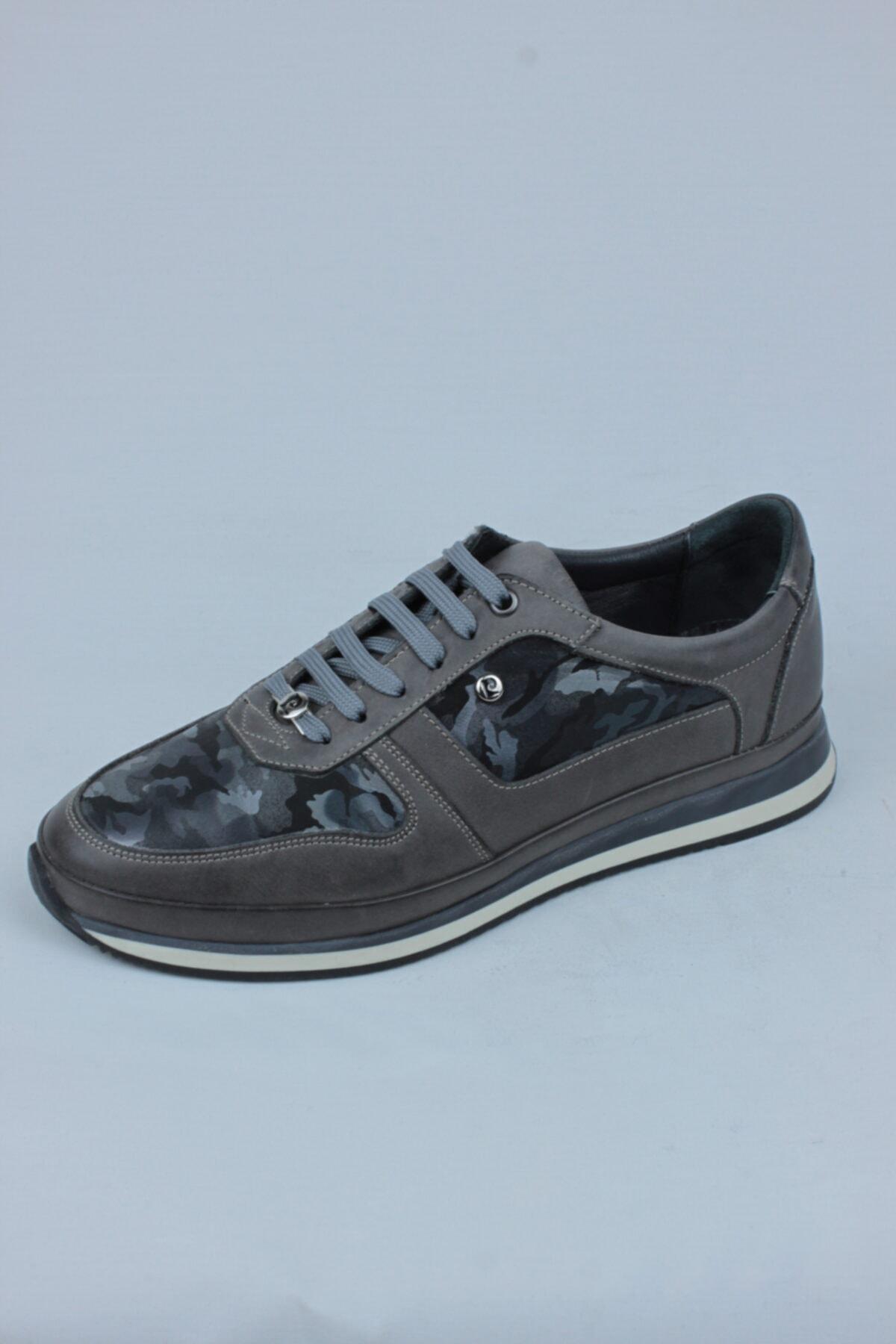 Pierre Cardin 4001 Poli Gri Casual Ayakkabı 1