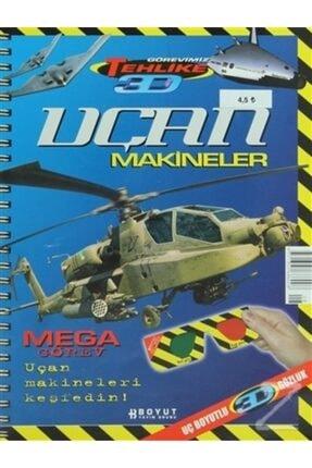 Boyut Yayın Grubu - Eğitim Dergileri 3d Çocuk Dergisi Uçan Makineler