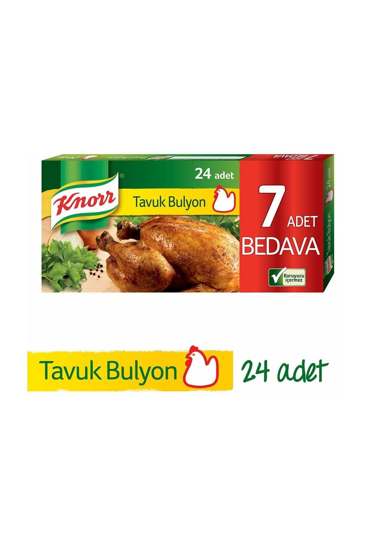 Knorr Tablet Tavuk Bulyon 24'lü 1