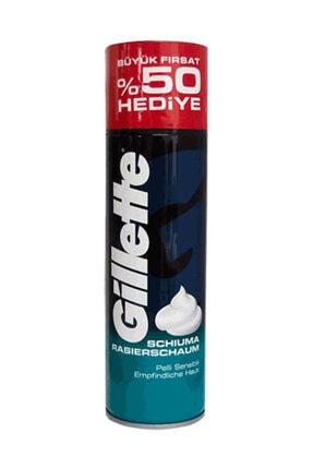 Gillette Hassas Ciltler İçin Traş Köpüğü Eko Boy 300 ml