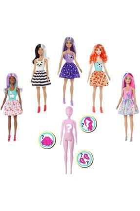 Barbie Color Reveal Renk Değiştiren Sürpriz Bebekler Seri 1 Gmt48