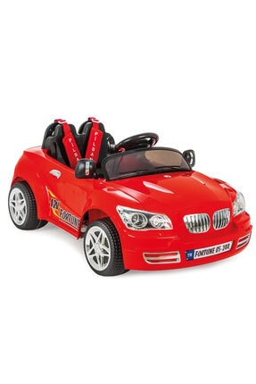 PİLSAN 05 244 Fortune Akülü Araba 12 Volt Kumandalı (kırmızı)