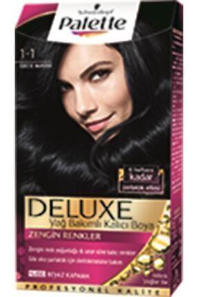 Palette Saç Boyası Deluxe 1 1 Gece Mavisi 50 ml 8690572780855