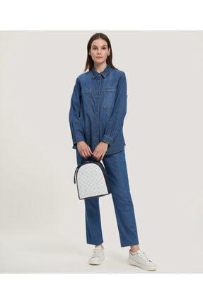 Aker Kadın  Jean Gömlek 2778