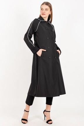 Loreen Kadın Siyah Trençhcoat 20y 25067