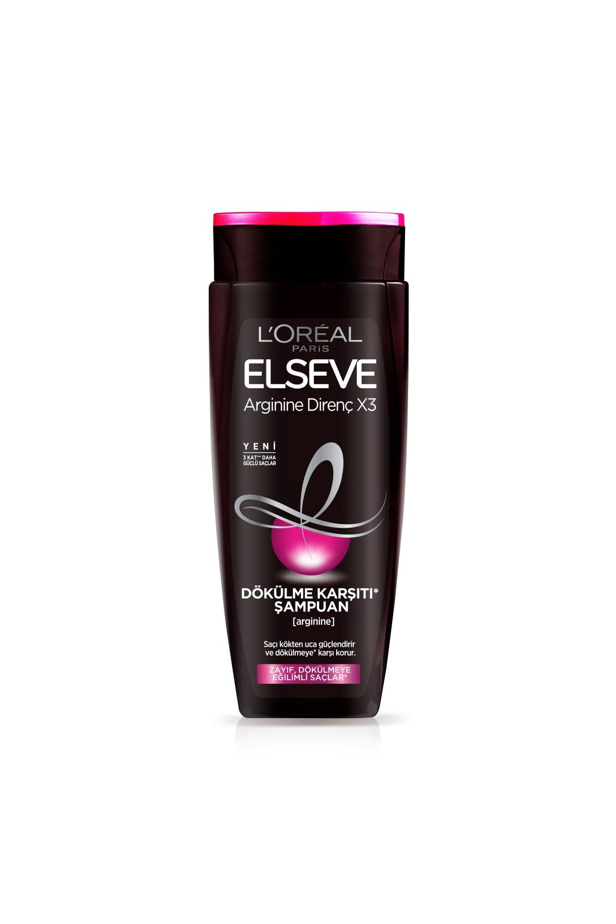ELSEVE Arginine Direnç X3 Dökülme Karşıtı Şampuan 450 ml 2