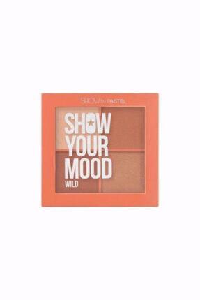 Pastel Allık Paleti - Show Your Mood Wild No 441 8690644104411