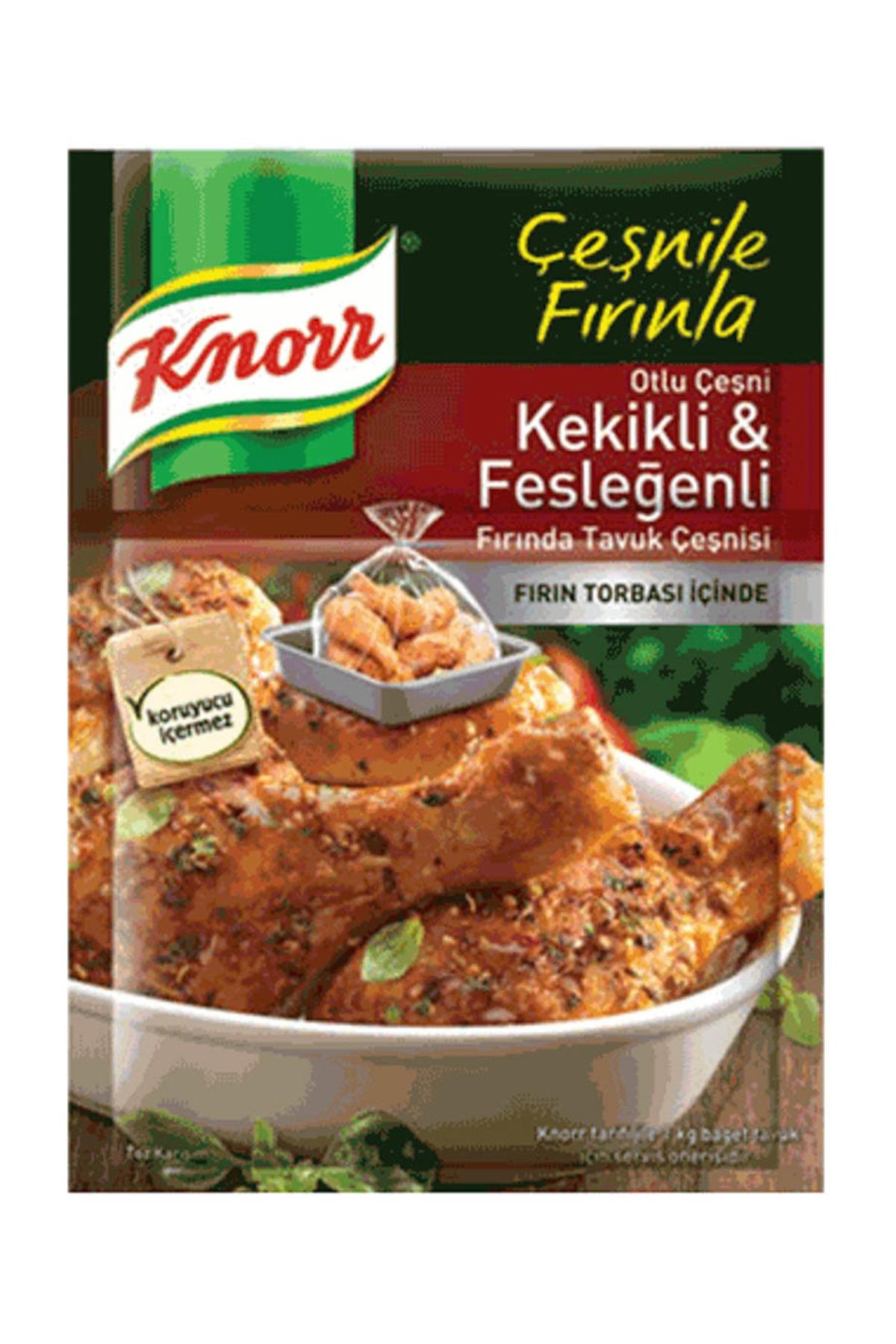Knorr Kekikli Fesleğenli Tavuk Çeşni 32 gr 1
