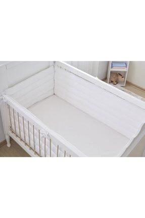 Aybi Baby Bebek Yan Koruma Seti - Beyaz - 60x120 Cm