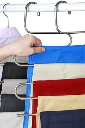 Hagen 5 Katlı Metal Pantolon Eşarp Askısı
