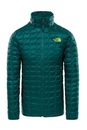 THE NORTH FACE Thermoball Hooded Insulated Erkek Mont Yeşil