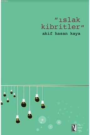 İz Yayıncılık Islak Kibritler / Akif Hasan Kaya /