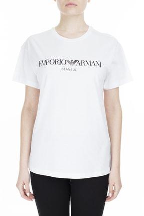 Emporio Armani Kadın Beyaz T-Shirt 3Z2T7Q 2Jo4Z S121