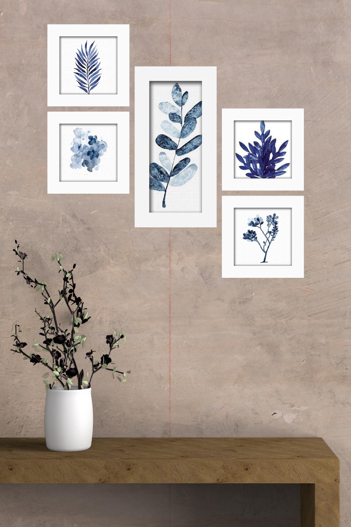 Cadran Collage Style 5 Parçalı Mdf Tablo Atf294 1