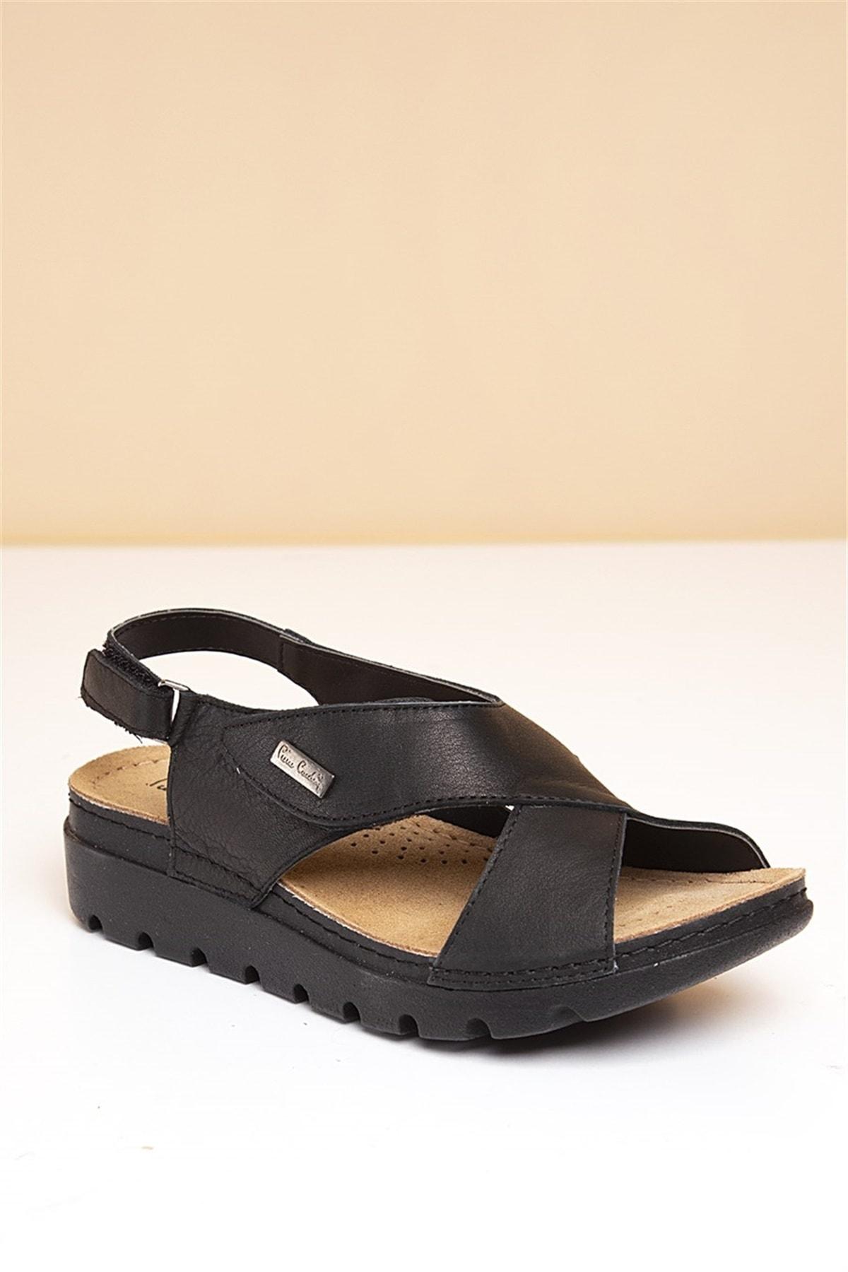 Pierre Cardin PC-1378 Siyah Kadın Sandalet 2