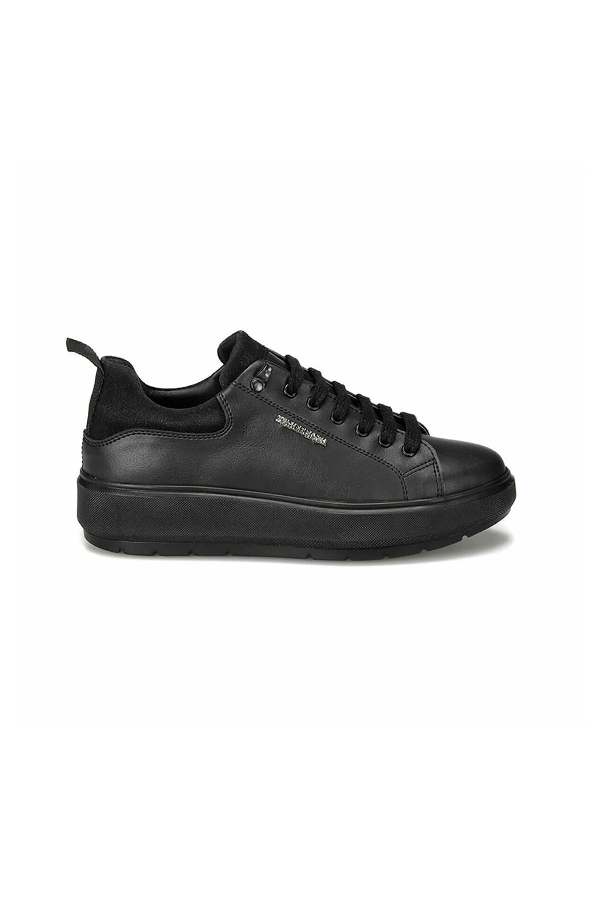 lumberjack Kadın Siyah Kalın Taban Ayakkabı Fıona 100434702 1